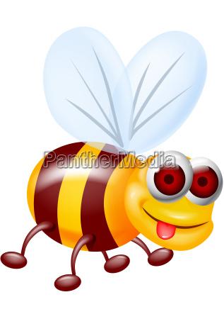 funny bee carton