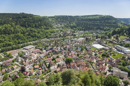 city panorama bad liebenzell