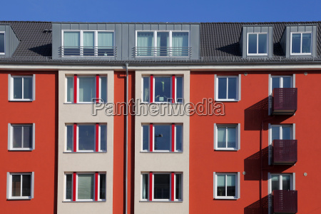 multi family terraced house in the