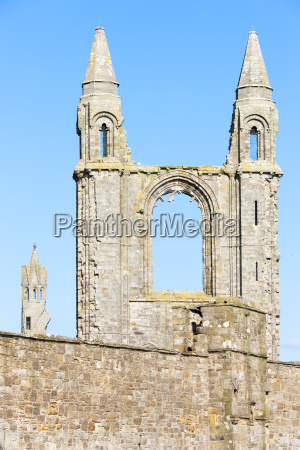 ruins of st rules church and
