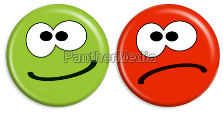 smilies positive and negative