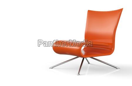 sit and chill orange