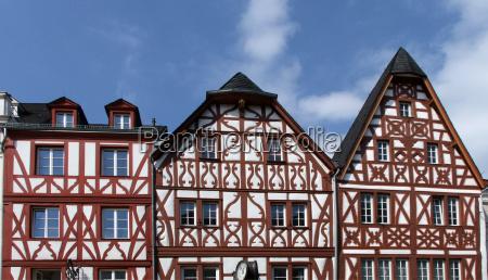 half timbered buildings