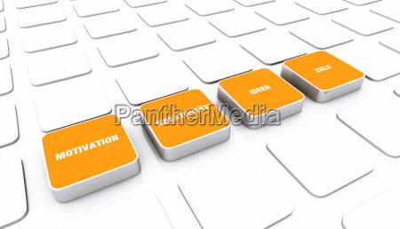 pad concept orange motivation creativity