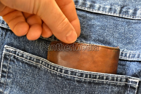 stealing a purse from a pocket