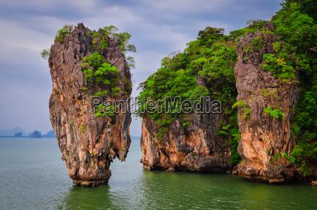 james bond island ocean view in