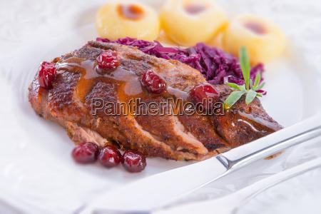 comida placa carne