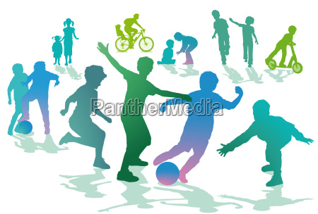children in the leisure and sport