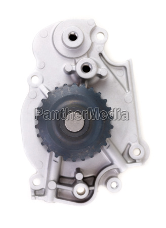 water pump isolated on white with