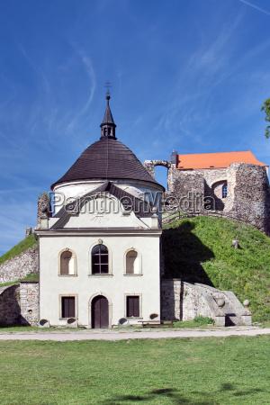 czech republic potstejn stronghold and