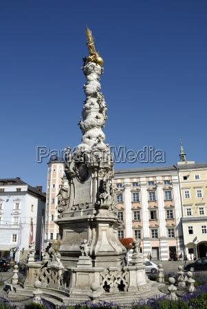 trinity column at the main square