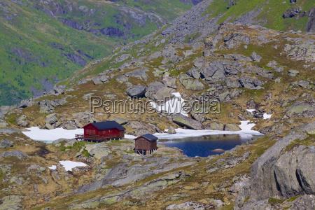 norwegian mountain hut