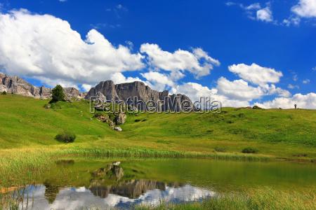 dolomites alps alp south tyrol rock