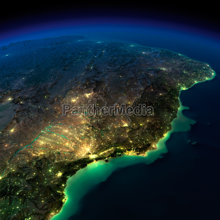 night earth a piece of south