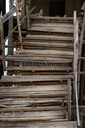 rickity wooden staircase