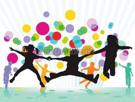 colourful childrens festival