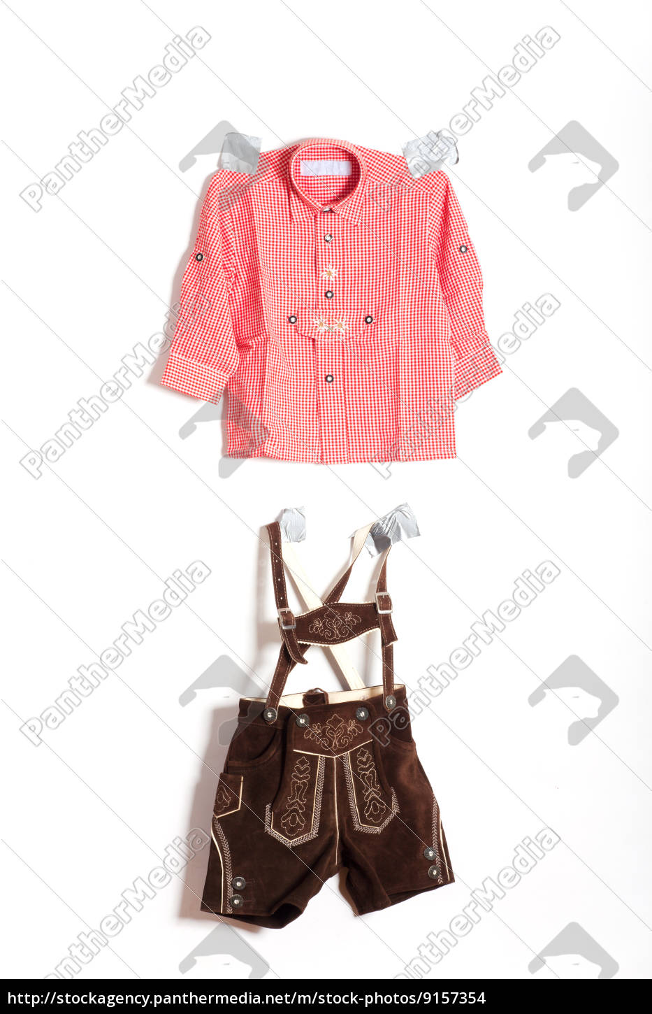fixed, bavarian, costume, on, the, wall - 9157354