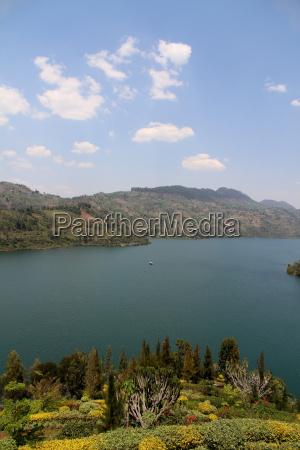 pretty lake view