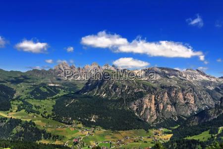 mountains dolomites summit rock climax peak