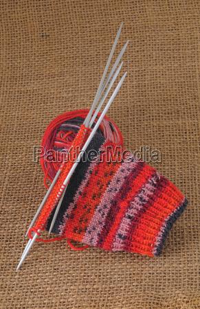 wool knit socks handicraft stockings handiworks
