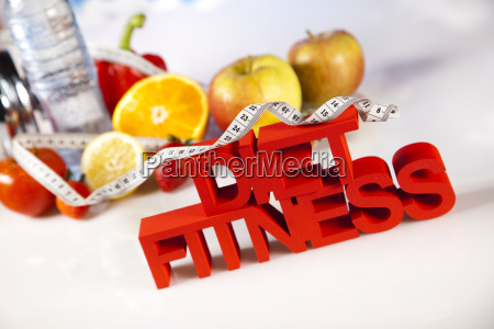 healthy lifestyle concept diet and
