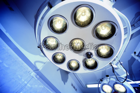 surgical lamps in operation room