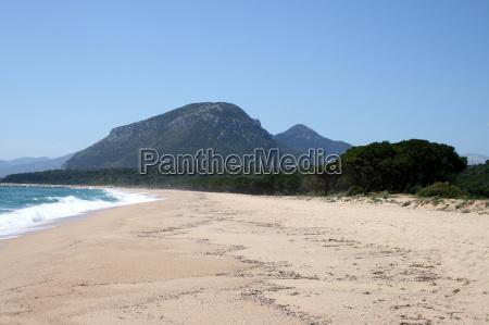 beach at the cala osalla in