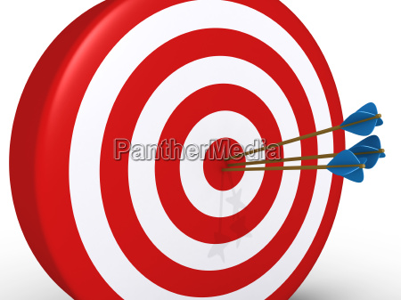 perfect shooting of three arrows