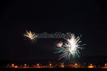 fireworks in celebration