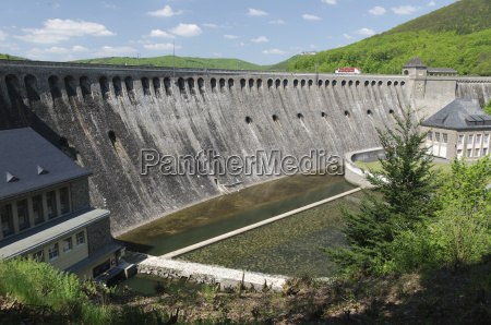 the great edersee dam germany