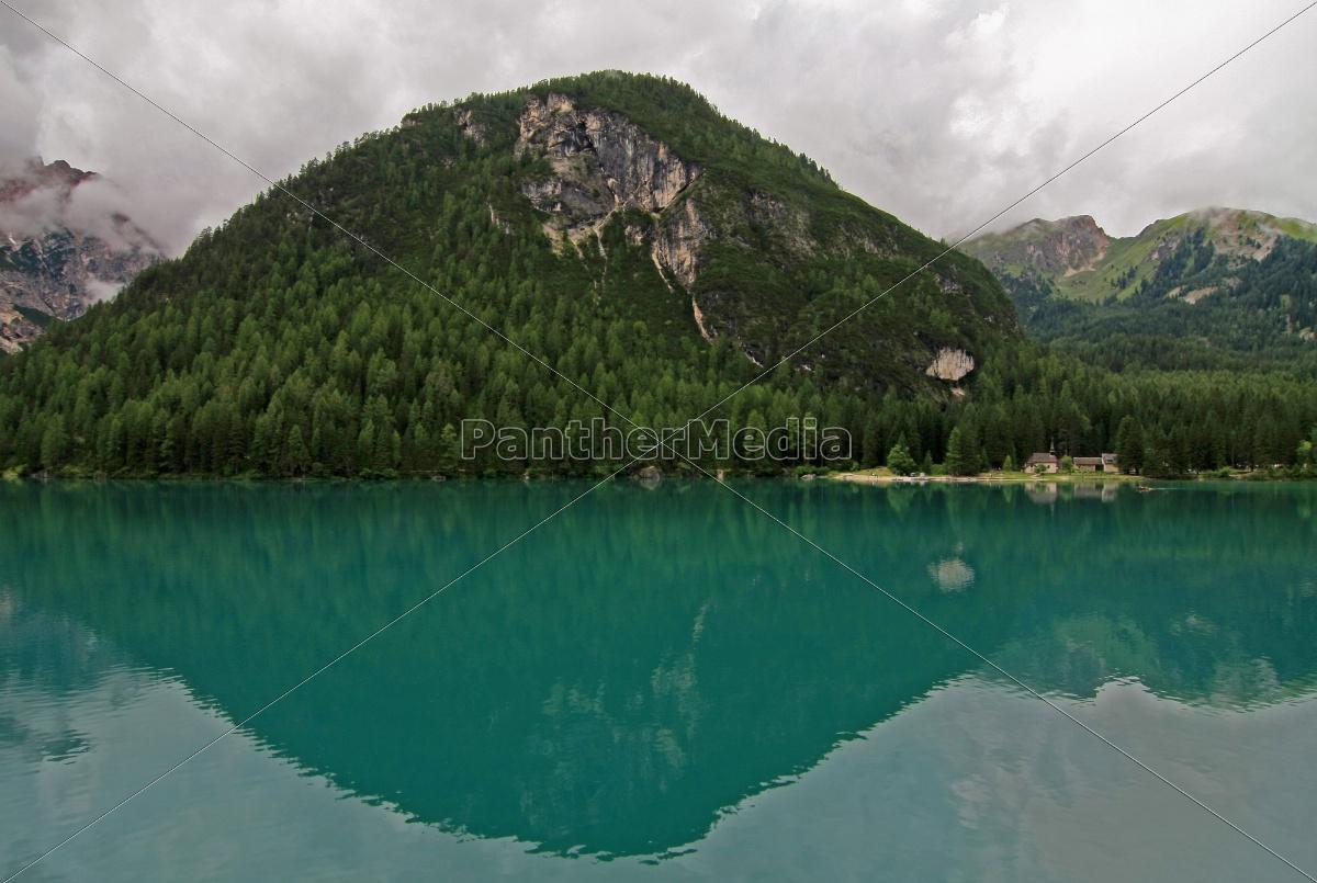 church, green, dolomites, summit, mirroring, climax - 9322070