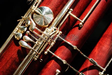 bassoon woodwind instrument