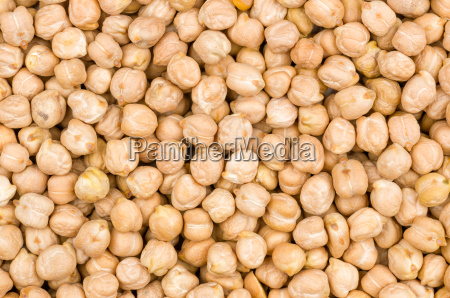 chickpeas background closeup