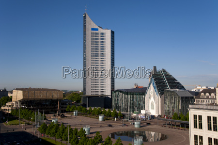 vista leipzig universidad institucion educacional mercado