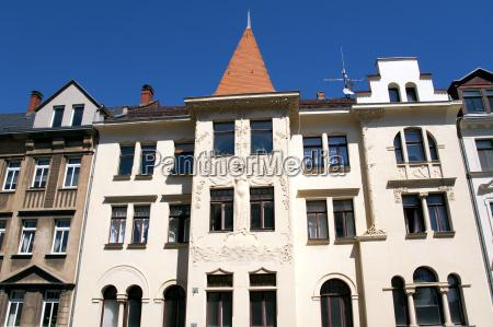 leipzig art nouveau house