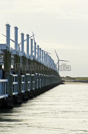 the tidal power plant in neeltje