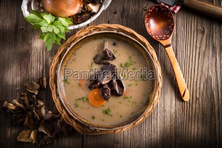 stone mushroom soup