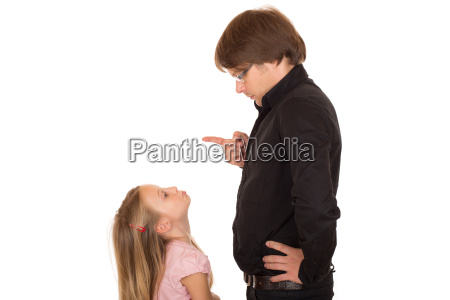 conflict with father and his daughter