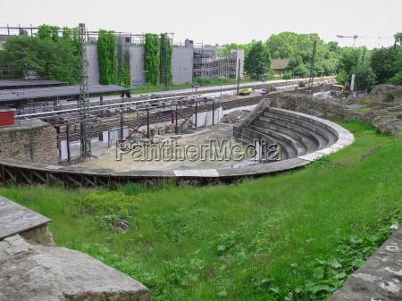 roman theatre in mainz