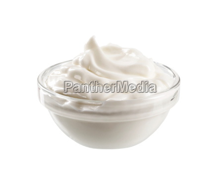 swirl of smooth cream