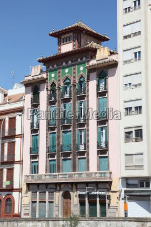 building in the city of malaga