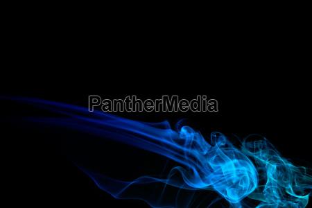 dyed smoke
