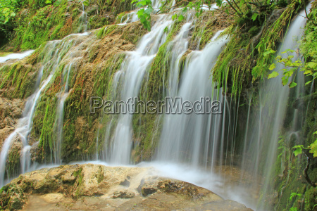 waterfall bad urach germany