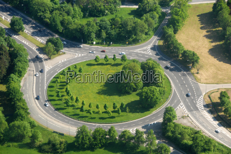 roundabout at furstenfeldbruck