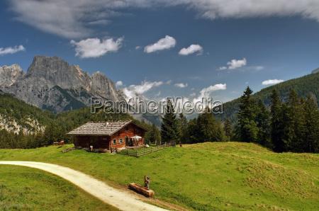 alm bavaria berchtesgaden mountains litzlalm muehlsturzhorner