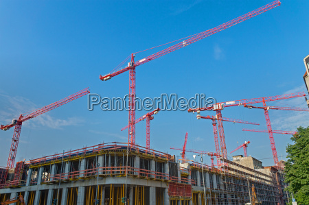 construction site in berlin