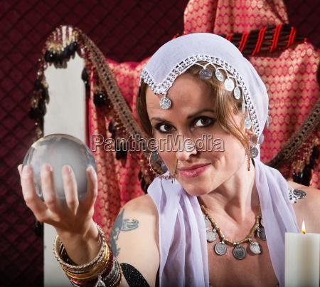 gorgeous fortune teller
