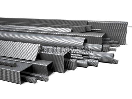 carbon fiber pipes