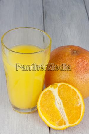 fresh pressed orange juice