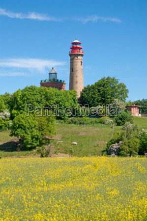 the lighthouse at cape arkona on